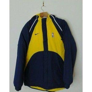 Vintage Nike Team L Indiana Pacers Coat Fleece
